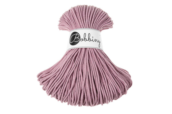 Bobbiny Premium Cord, 3mm, Dusty Pink