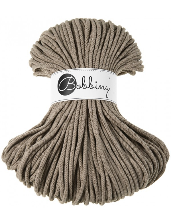 Bobbiny Premium Cord, 5mm, Coffee