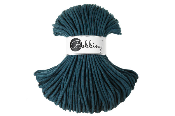 Bobbiny Premium Cord, 5mm, Peacock Blue