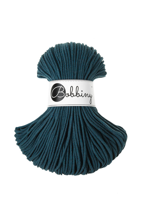 Bobbiny Premium Cord, 3mm, Peacock blue