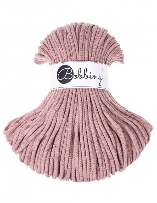 Bobbiny Premium Cord, 5mm, Blush