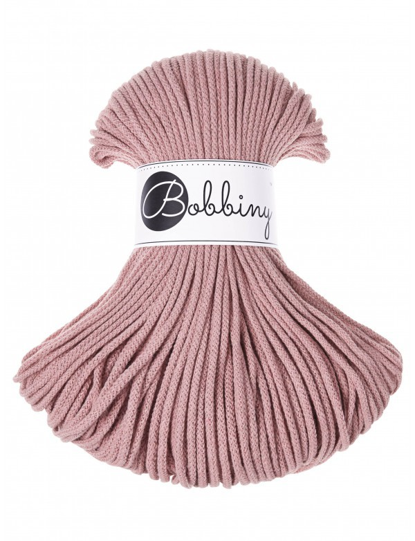 Bobbiny Premium Cord, 3mm, Blush
